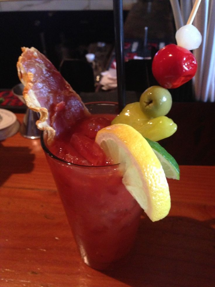 Bloody Mary at Cafe 21