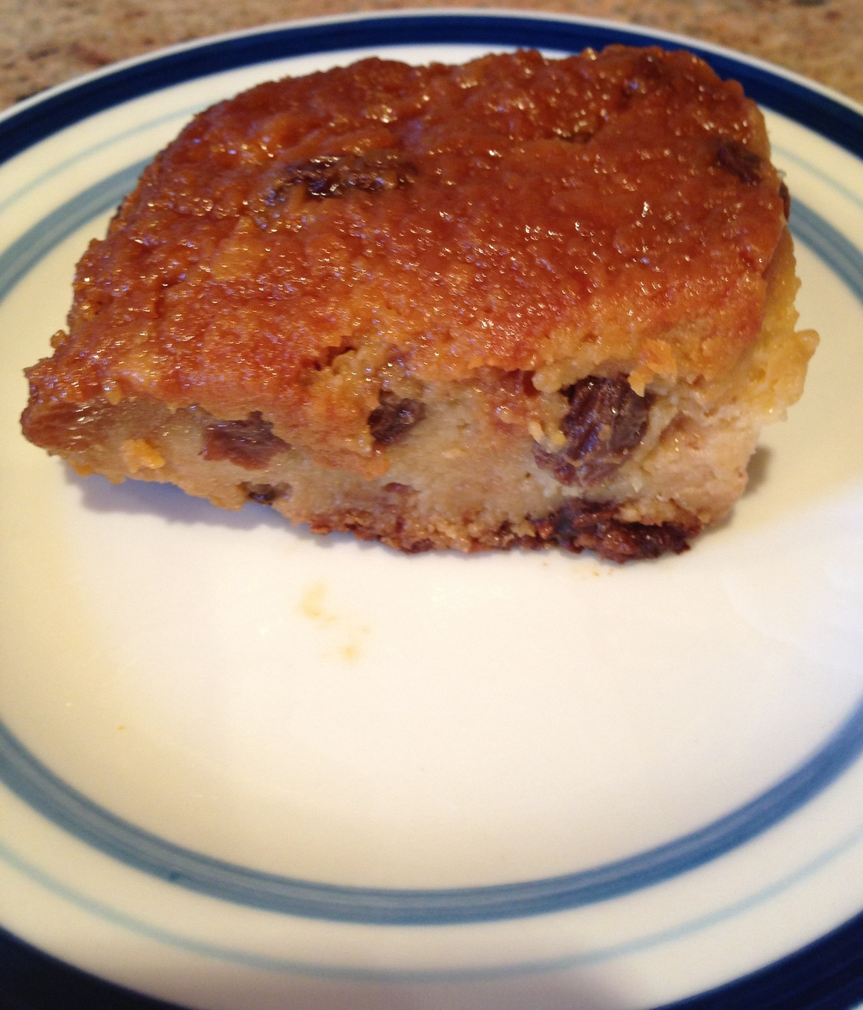 Peruvian Bread Pudding