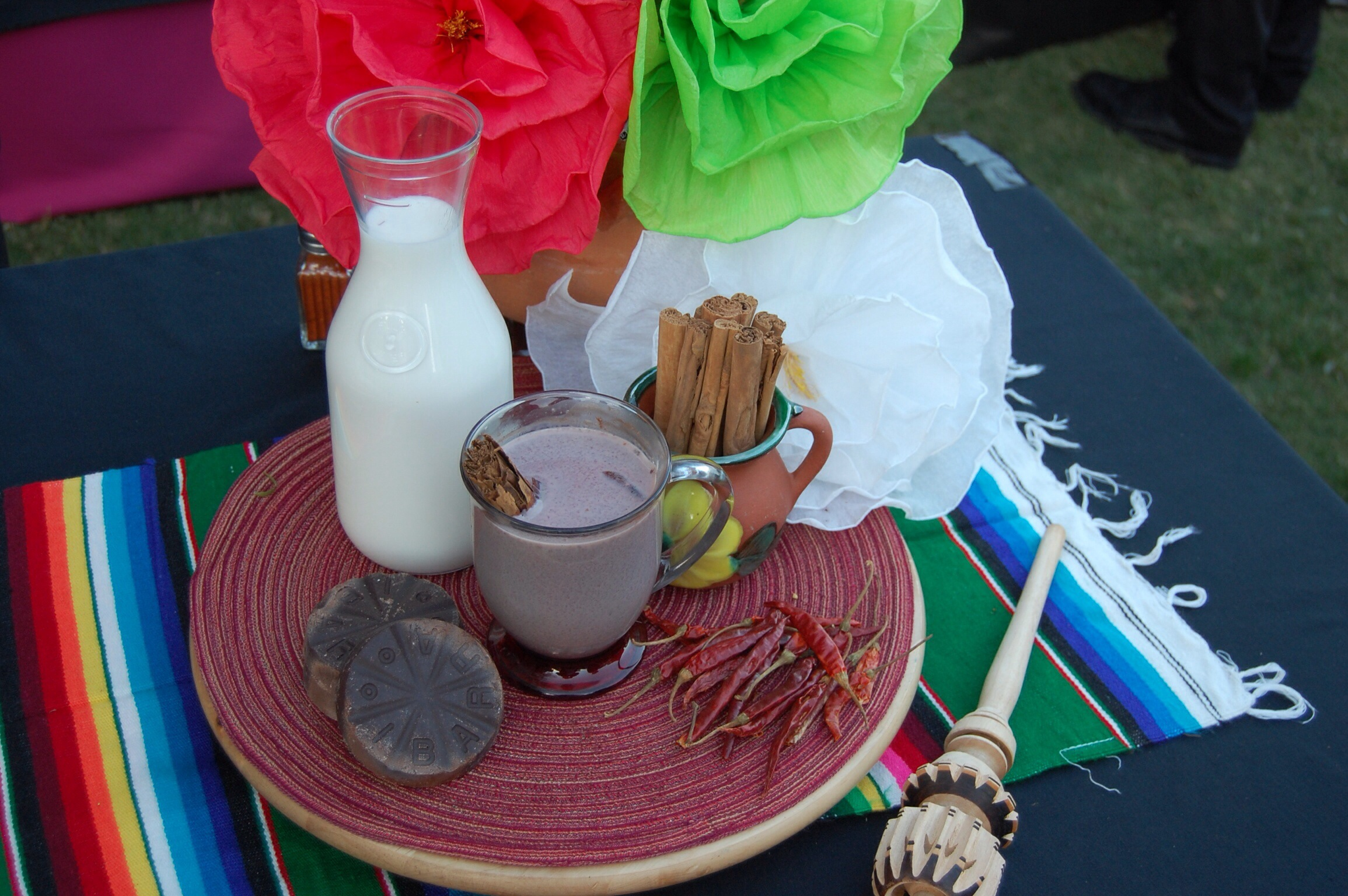 Hot Chocolate at The Taste of Mexico 2013