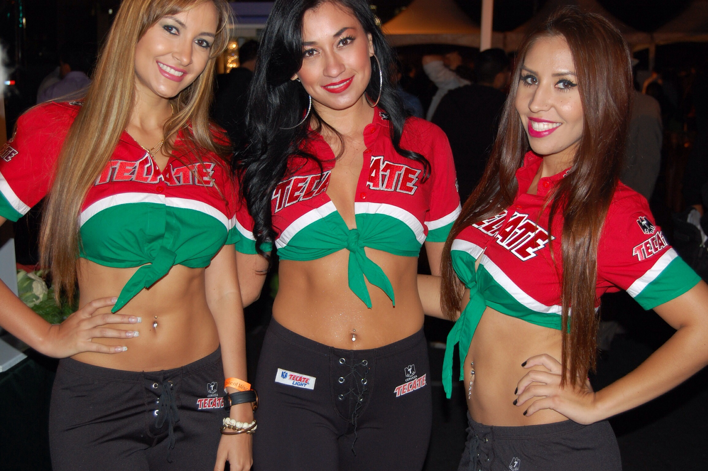 Tecate Girls at The Taste of Mexico 2013