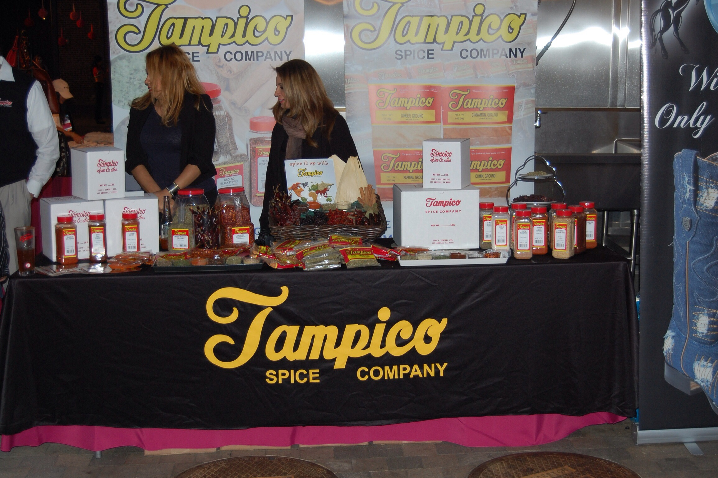 Tampico Spice Company at The Taste of Mexico 2013