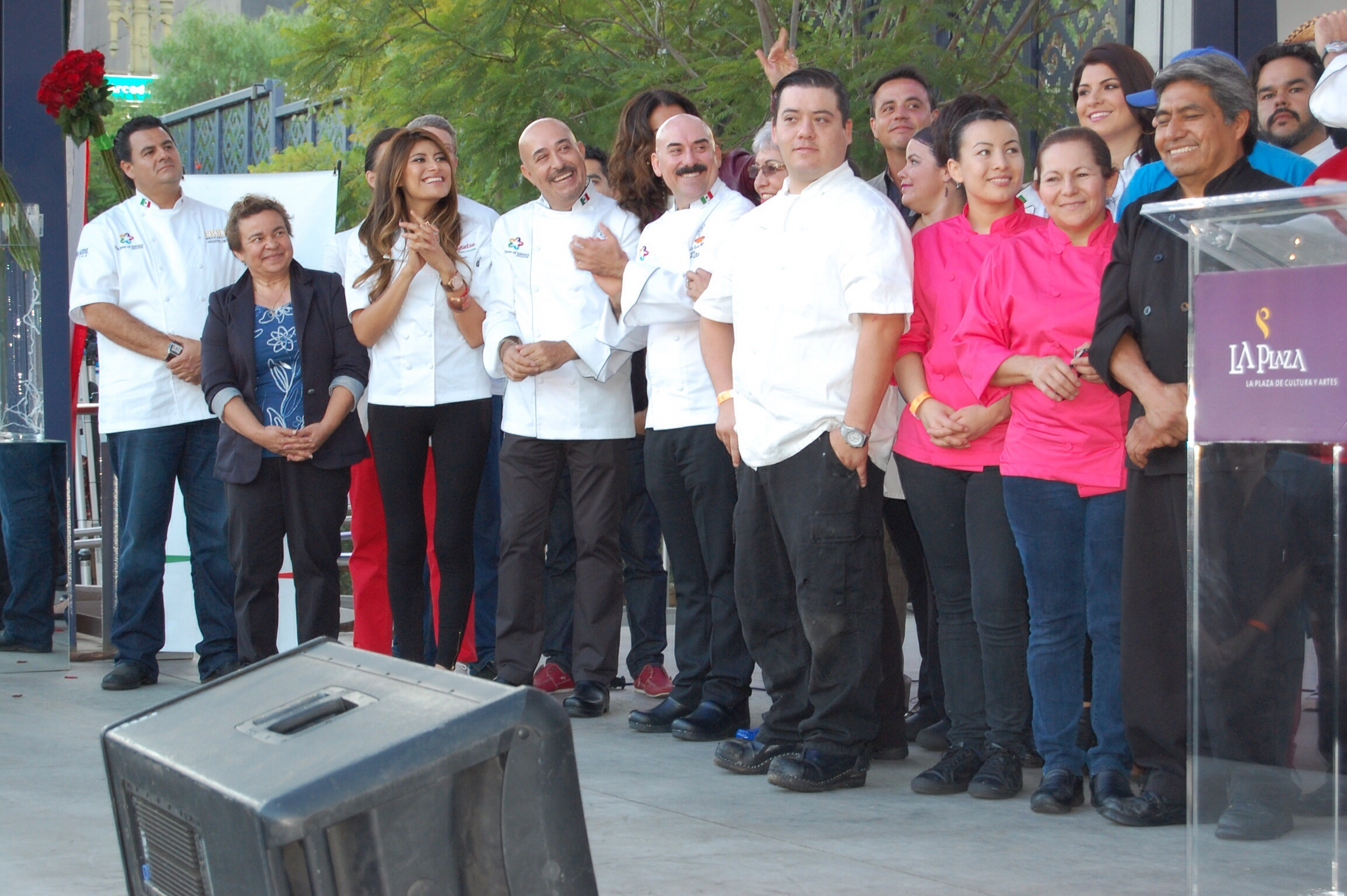 Chefs and City officals at The Taste of Mexico 2013