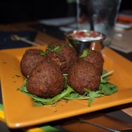 Edamame Falafel at Tom's Urban L.A.