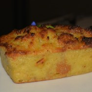 Corn Bread Pudding at Roadhouse LA