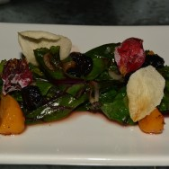 Wilted Beet Green at Roadhouse LA