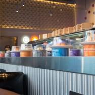 Conveyor belt at Blue C Sushi