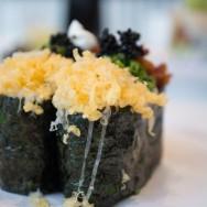 Load Baked Potato Sushi at Blue C Sushi