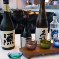 Sake at Blue C Sushi