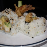 Spider Roll at Blue C Sushi