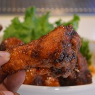 Sriracha Thai Wings at Slater's 50/50