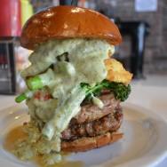 The Rustic Ravioli Burger at Slater's 50/50