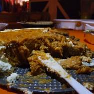 Double Layer Sweet Potato Cheesecake