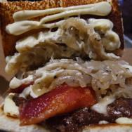 Holy Aioli Burger at Dog Haus