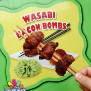 Wasabi Bacon Bombs