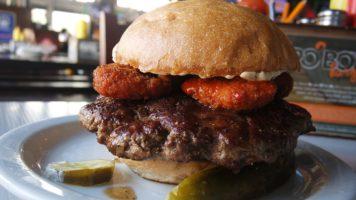 The 'Po Boy Burger at Slater's 50/50 | The Burger Crawl – Ep. 15