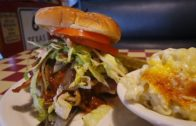 Garbage Burger at Robin's Woodfire BBQ Pasadena | The Burger Crawl – Ep. 10
