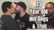 Wreckless Eating – 23 Year Old Hot Dogs & Fruit (Episode 68) *Vomit Alert*