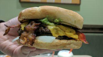 Bacon Avocado Burger (The Natural Burger) @ Farmer's Boys Hollywood | The Burger Crawl – Ep. 67