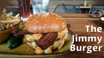 Jimmy Burger at Jimmy's Famous American Tavern | The Burger Crawl – Ep. 69