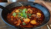 Tom Yum Fiery Noodle Challenge at Thailicious